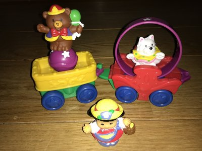 Fisher-Price Little People Circustrein, 2 delig