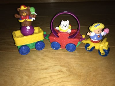 Fisher-Price Little People Circustrein, 3-delig (Set A)