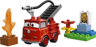 Duplo Cars Red brandweerwagen