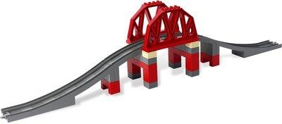 Spoorbrug voor de trein (B-Keuze)