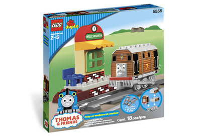 Toby op Wellsworth Station van Thomas de Trein (compleet in originele doos)