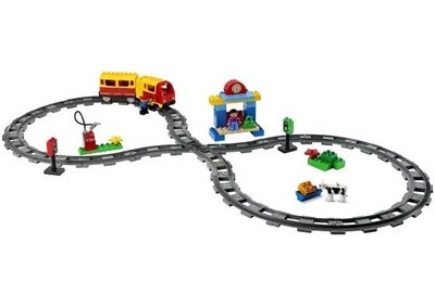 Lego Duplo 3771 Luxe trein startset.