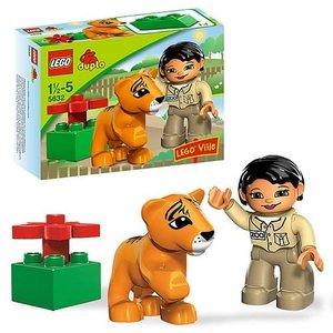 Dierenverzorger met tijgertje (NIEUW, in originele doos!)