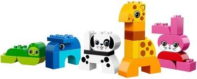 Creatieve dieren blokkenset (I.z.g.s. in originele doos)