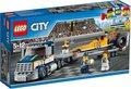LEGO-City-dragster-transportvoertuig-60151